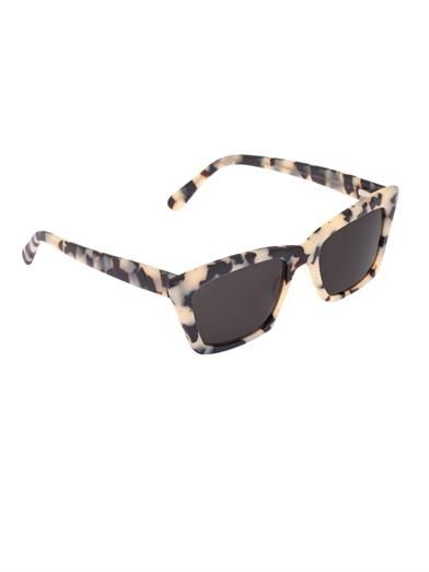 Prism Seoul angular cat-eye sunglasses