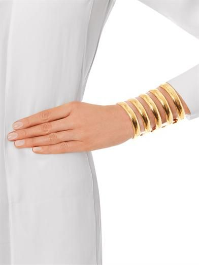 Aurélie Bidermann Esteban gold-plated cuff