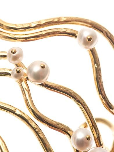 Aurélie Bidermann Cheyne Walk freshwater pearl cuff