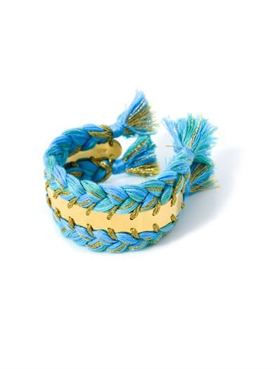 Aurélie Bidermann Copacabana gold-plated bracelet