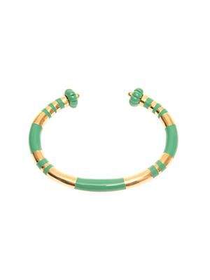 Positano gold-plated bangle