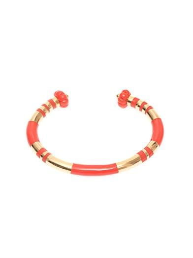 Aurélie Bidermann Positano gold-plated bangle