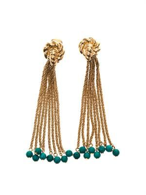 Palazzo gold-plated earrings