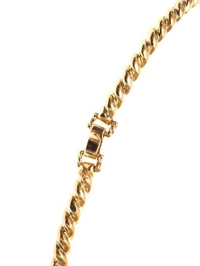 Aurélie Bidermann Palazzo gold-plated rope necklace