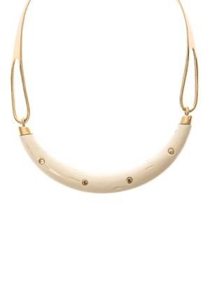 Caftan Moon gold-plated necklace