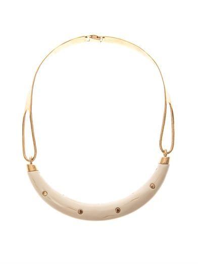 Aurélie Bidermann Caftan Moon gold-plated necklace