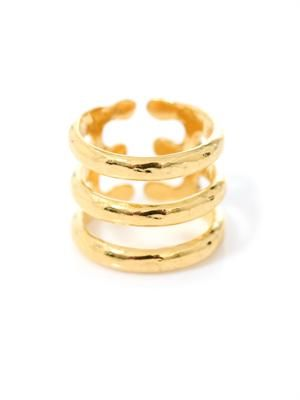 Esteban gold-plated ring