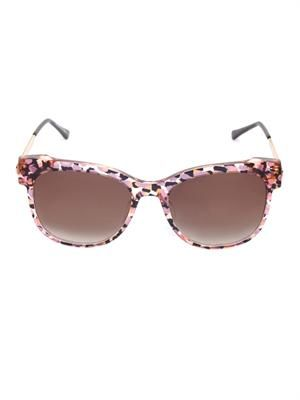 Lippy round-frame sunglasses