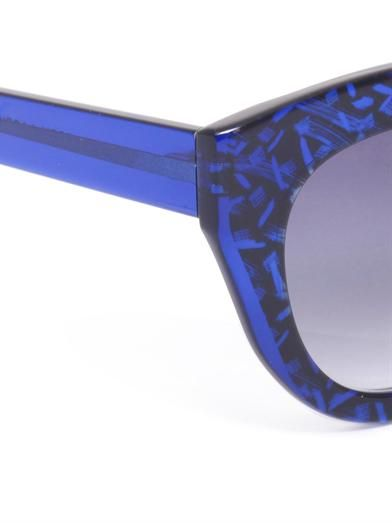 Thierry Lasry Deeply curved-frame sunglasses