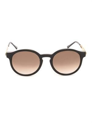 Silenty round-framed sunglasses