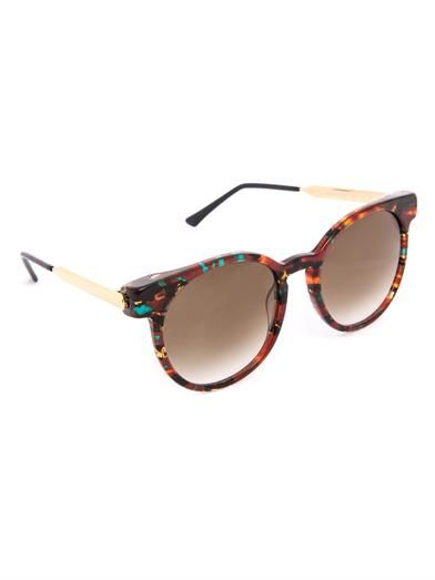 Thierry Lasry Painty round-frame sunglasses