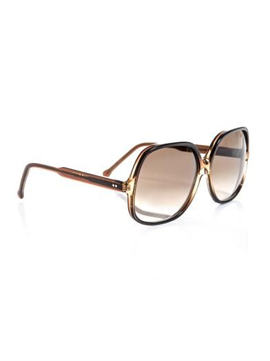 Cutler and Gross Large square sunglasses
