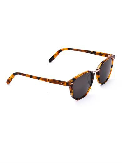 Cutler and Gross Retro D-frame sunglasses