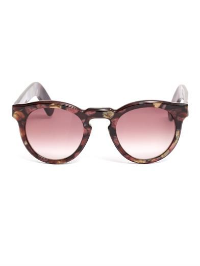Cutler and Gross Sweet Pea round sunglasses