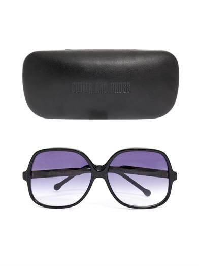 Cutler and Gross Oversized square sunglasses