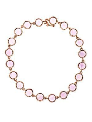Rose de France & rose gold bracelet