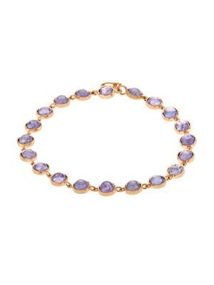 Tanzanite & rose-gold bracelet