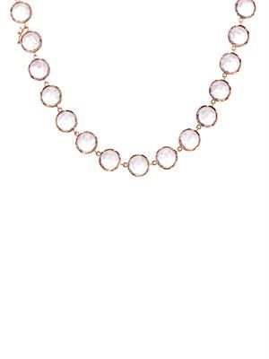 Rose de France & rose-gold necklace