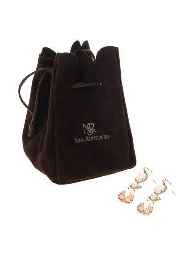 Nsr Nina Runsdorf Diamond, morganite, opal & gold earrings