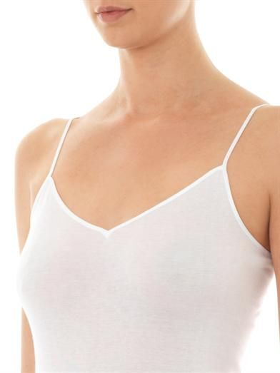 Hanro Seamless V-neck vest top