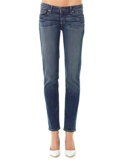 Paige Denim Jimmy Jimmy mid-rise slim boyfriend jeans