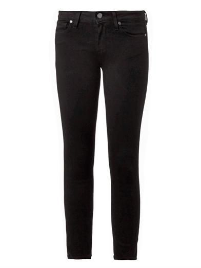 Paige Denim Verdugo mid-rise cropped skinny jeans