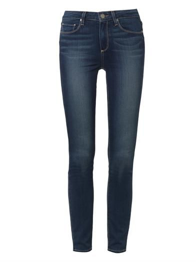 Paige Denim Hoxton Transcend high-rise skinny jeans