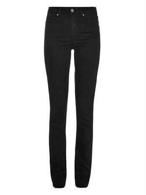Hoxton high-rise straight-leg jeans