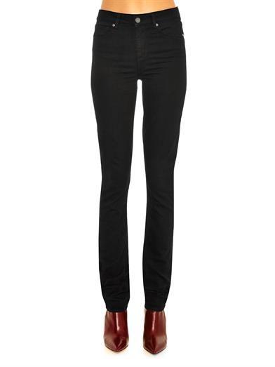 Paige Denim Hoxton high-rise straight-leg jeans