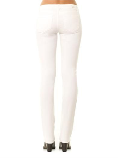 Paige Denim Skyline mid-rise straight-leg jeans