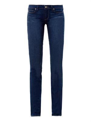 Skyline mid-rise straight jeans