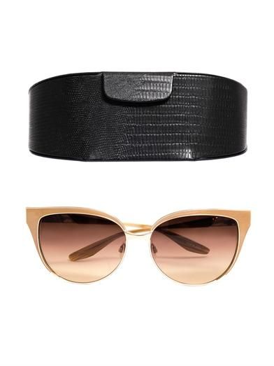 Barton Perreira Valerie cat-eye sunglasses