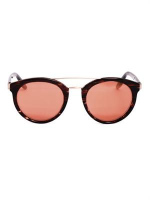Dalziel round-framed sunglasses
