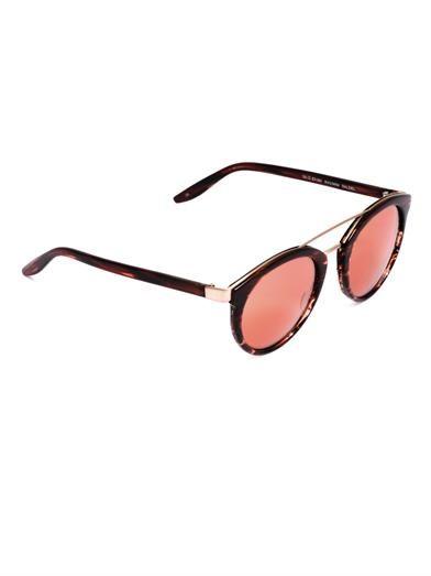 Barton Perreira Dalziel round-framed sunglasses