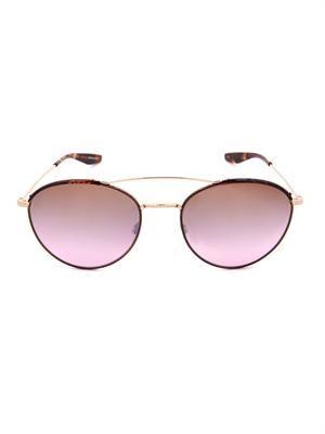 Gamine round-framed sunglasses