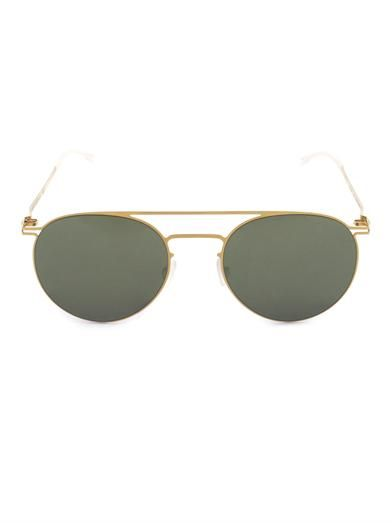 Mykita Taulant stainless-steel sunglasses