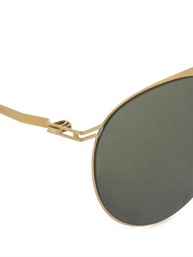 Mykita Taulant stainless-steel sunglasses