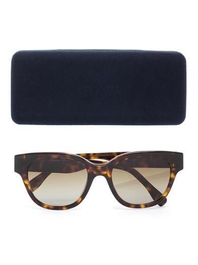 Mykita Mafalda tortoiseshell sunglasses