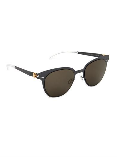 Mykita Mareike stainless-steel sunglasses
