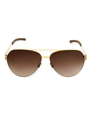 Sly Aviator-style sunglasses