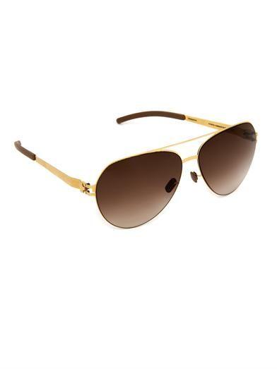 Mykita Sly Aviator-style sunglasses