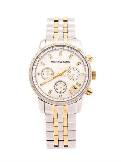 Michael Kors Watches Ritz triple chronograph watch