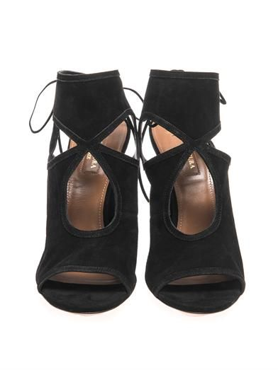 Aquazzura Sexy Thing suede sandals