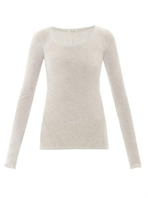 Massachusetts long-sleeved top