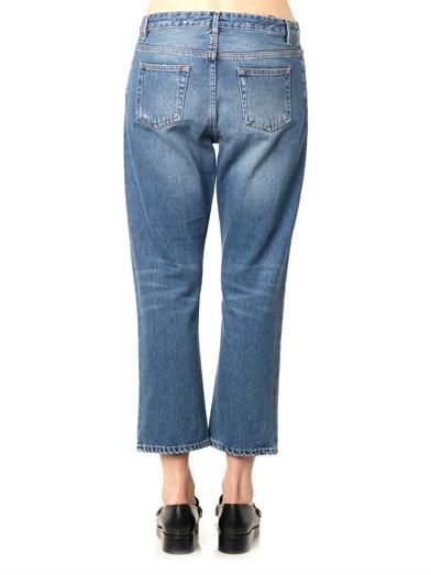 Acne Studios Pop low-slung boyfriend jeans