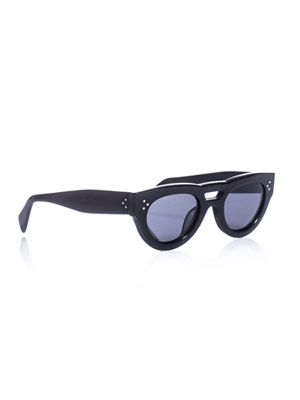 Lady thick-framed sunglasses