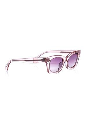 Sophia clear frame sunglasses