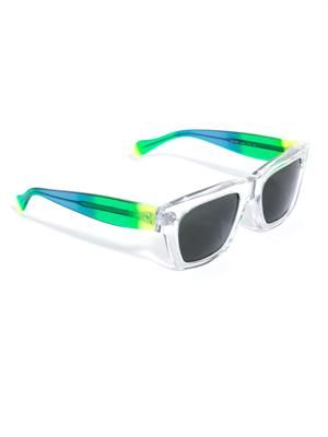Original clear square sunglasses