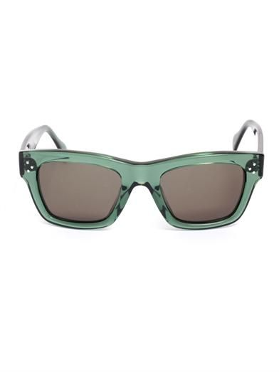 Céline Sunglasses Transparent square sunglasses