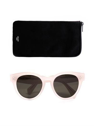 Céline Sunglasses Pearly round sunglasses